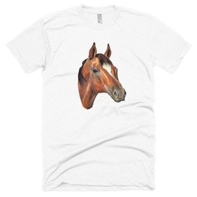 Horse Spirit Medicine || Short sleeve soft t-shirt