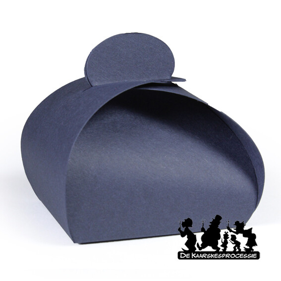 Nachtblauw bonbon doosje