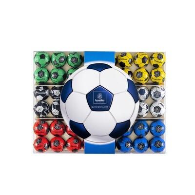 Plexidoos voetbal 48 stuks - 510 gr