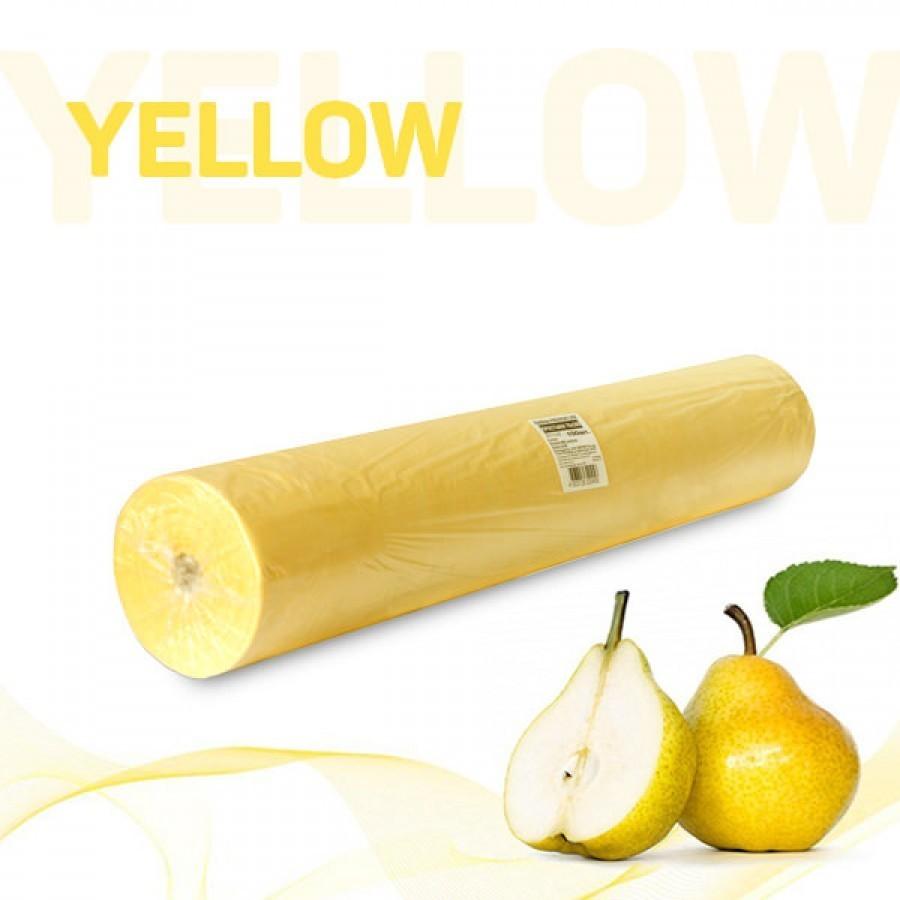 Простыни 70*200 в рулоне (желтый)