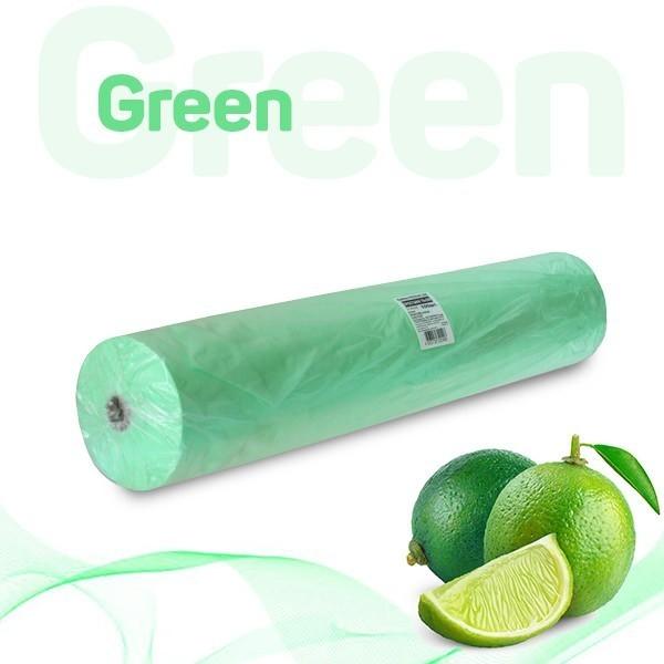 Простыни 70*200 в рулоне (зелёный)