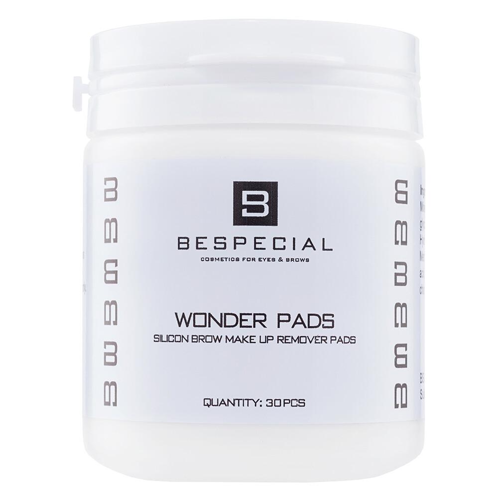 Силиконовые диски для снятия макияжа с бровей Wonder Pads BESPECIAL