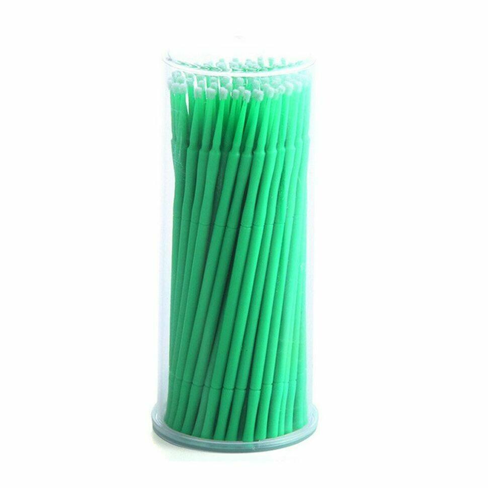 Микробраши зеленые в тубе (100шт)