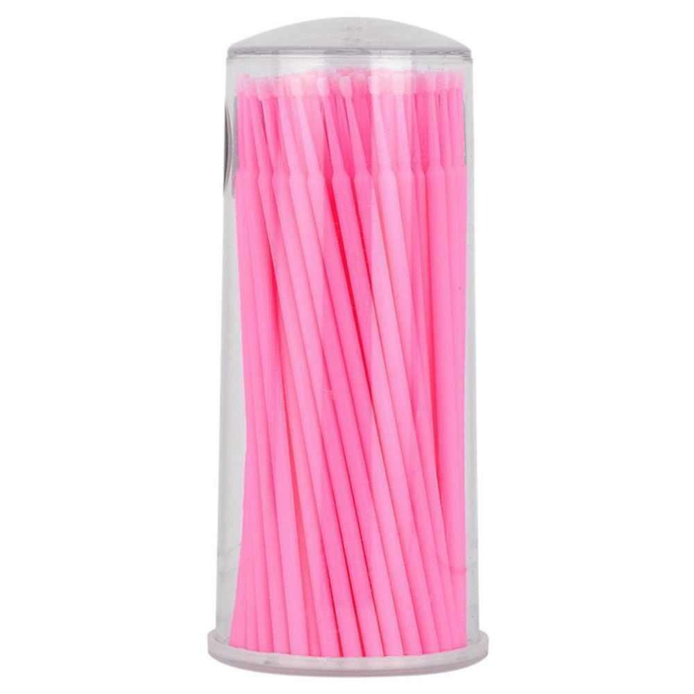 Микробраши розовые в тубе (100шт)