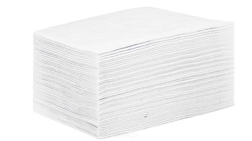 Простыни в сложении, 20 шт (белые)