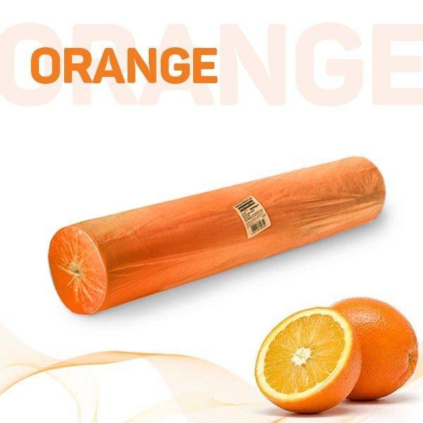 Простыни 70*200 в рулоне (оранжевый)