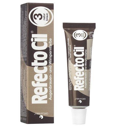 Краска для бровей и ресниц RefectoCil №3(коричневая)