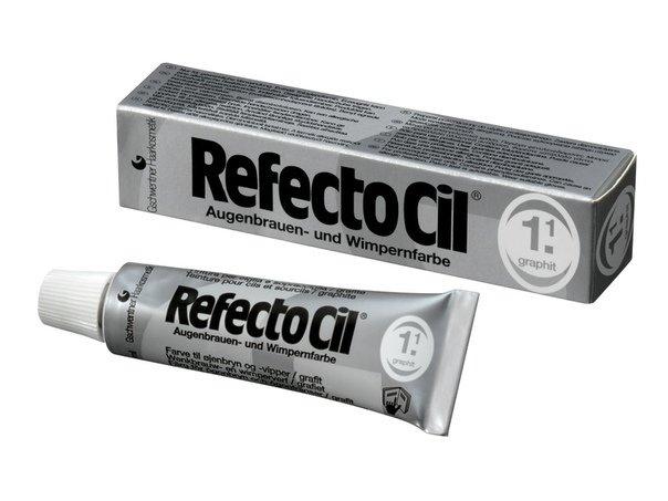 Краска для бровей и ресниц RefectoCil №1.1(графит)