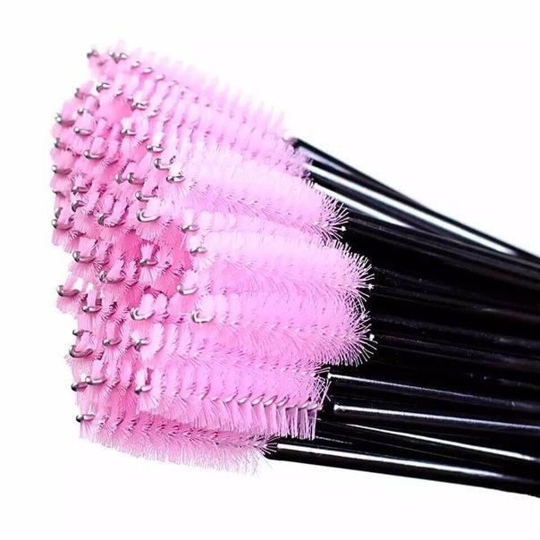 Щеточки нейлоновые (чёрно-розовый)