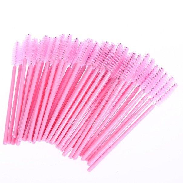 Щёточки нейлоновые (розовый)