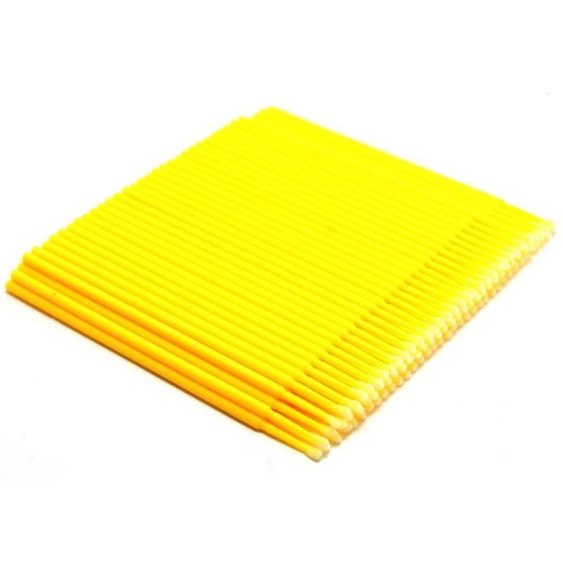 Микробраши желтые в пакете (100шт)
