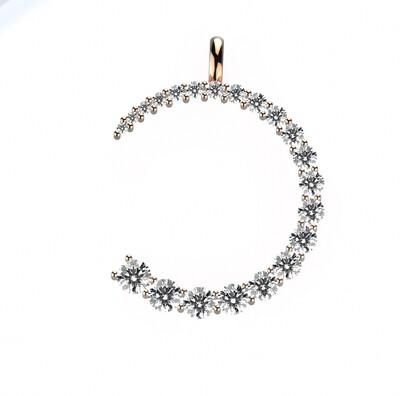 Diamond Arc Pendant