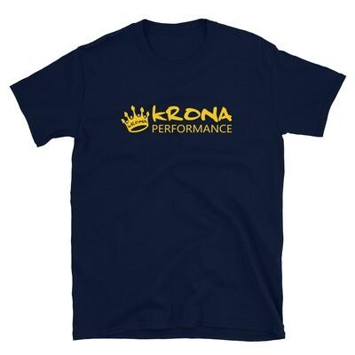 Krona Performance Logo T Navy Blue
