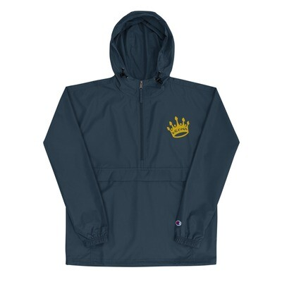 Krona Crown Embroidered Champion Packable Jacket