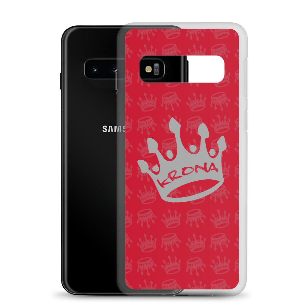 Krona Performance Samsung Case Red