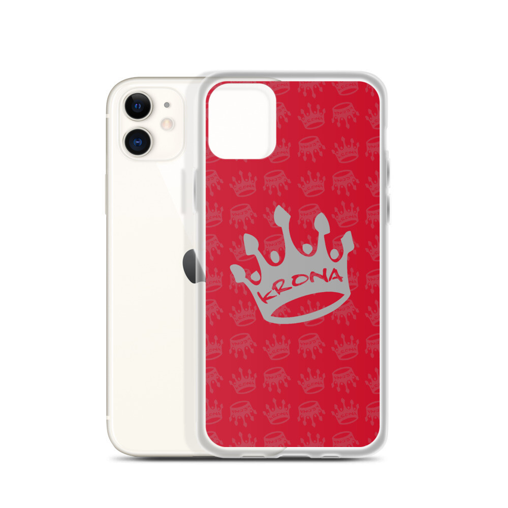 Krona Performance iPhone Case Red