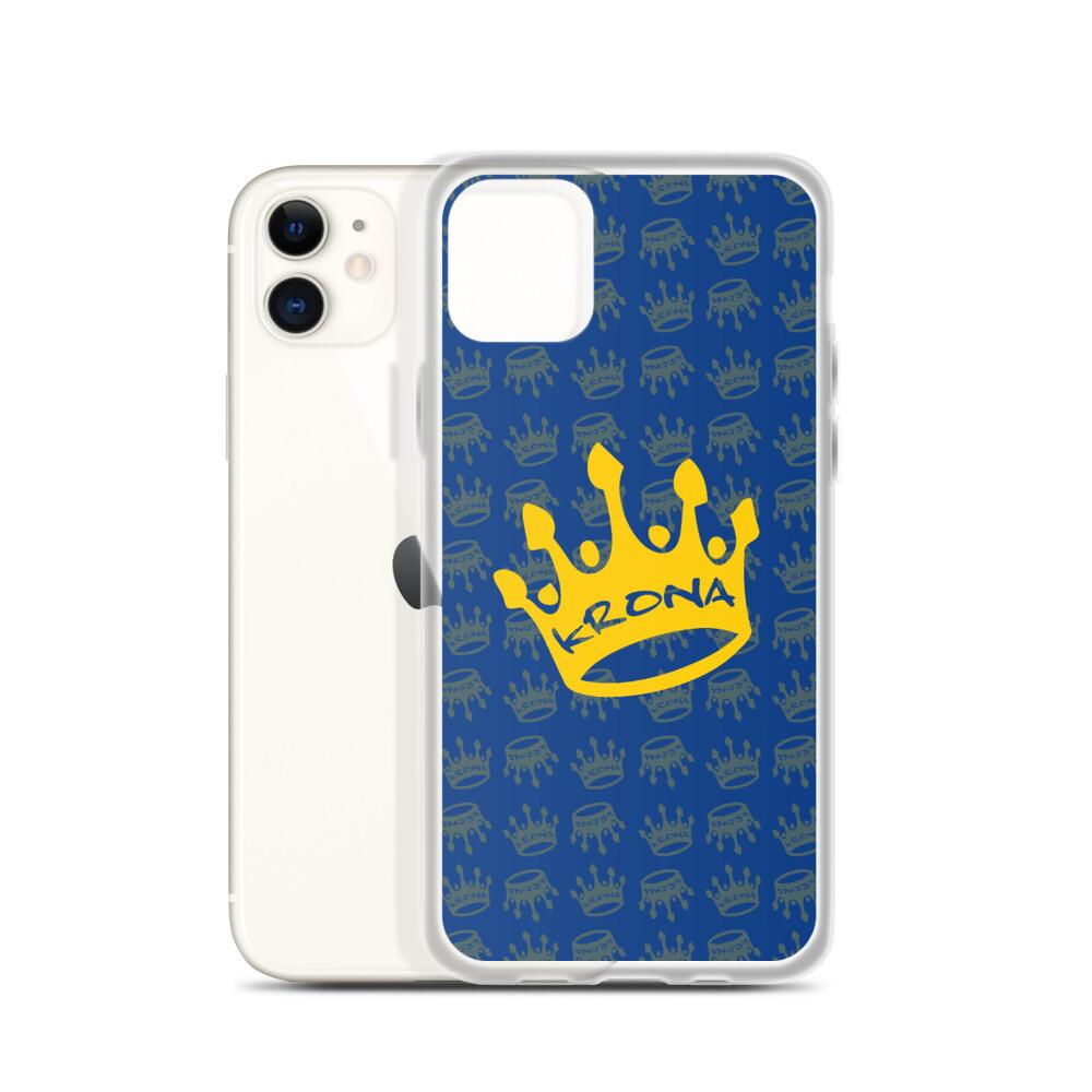 Krona Performance iPhone Case Blue