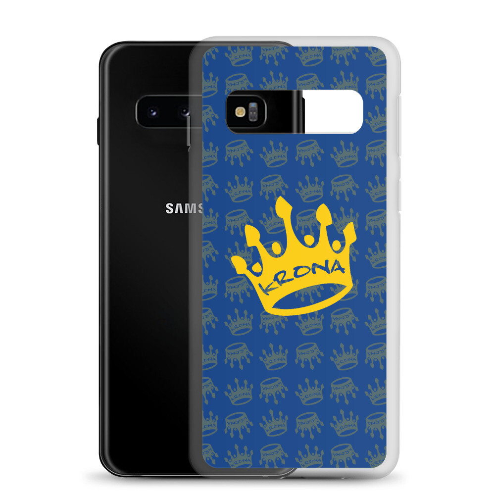 Krona Performance Samsung Case Blue