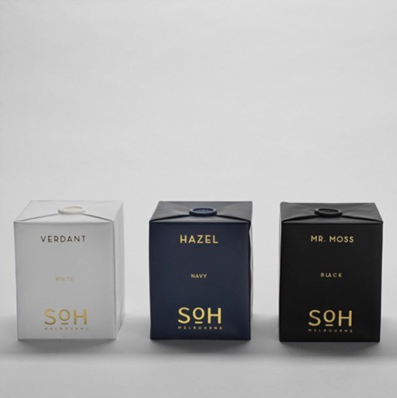 SOH Melbourne Candle