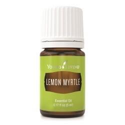 Natūralus Gaivinantis Kvapniųjų Citrinžolių Eterinis aliejus / Lemon Myrtle Essential Oil 5 ml