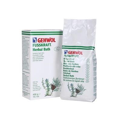 Gehwol Fusskraft Herbal / Bath Žolelių vonelė kojoms 400 ml