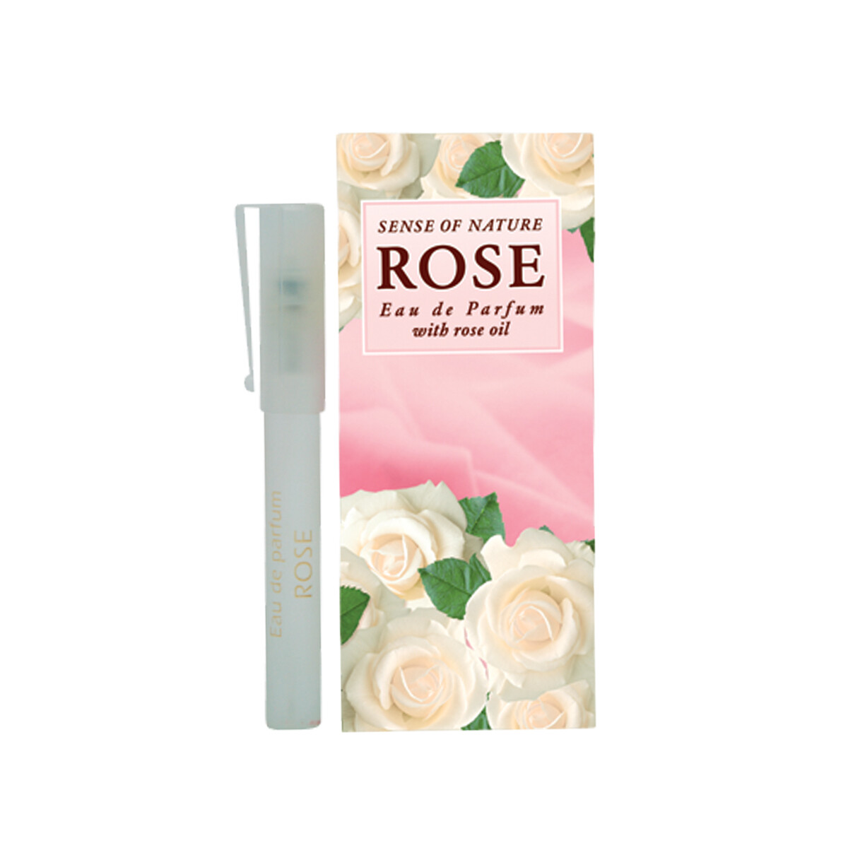 "Eau De Parfum Kvepalai su rožių aliejumi ""Baltoji Rožė"" 8 ml"