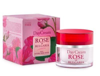 """Dieninis  kremas su rožių vandeniu """"Rose of Bulgaria"""" 50 ml."""