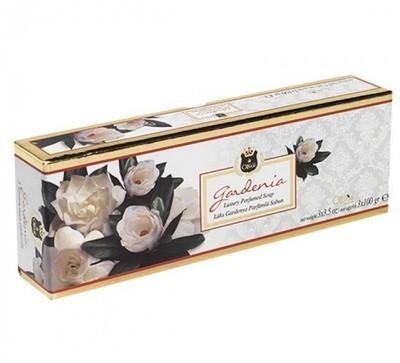 Muilas su alyvuogių aliejumi, gardenija ir valomąsias savybes turinčiais, prabangiais priedais 3x100 g.