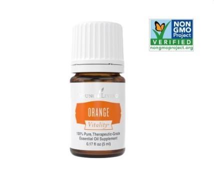Natūralus Gaivinantis Apelsinų plius Eterinis Aliejus Orange+ 5ml.