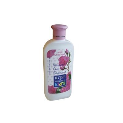"""Vaikiškas Šampūnas - Dušo žele """"Rose of Bulgaria KIDS"""" - 200ml"""