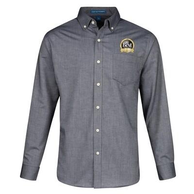 Men's Long Sleeve Oxford Shirt