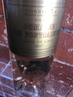 Dom Fontsainte Corbieres Rose  Gris De Gris 2019
