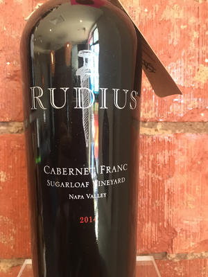 Rudius Sugarloaf Vineyard Cabernet 2014