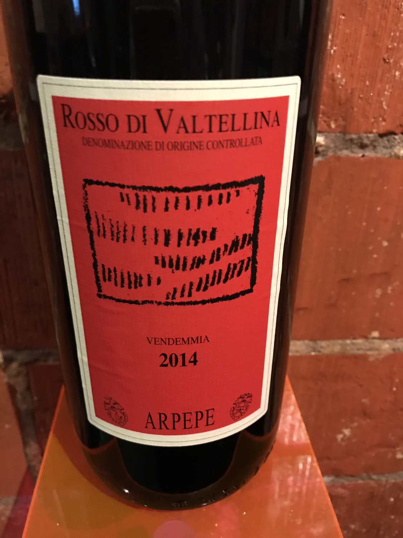 Arpepe Rosso di Valentina 2014 1.5L