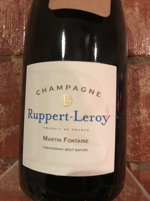 Champagne Rupert - Leroy Martin Fontaine 2013