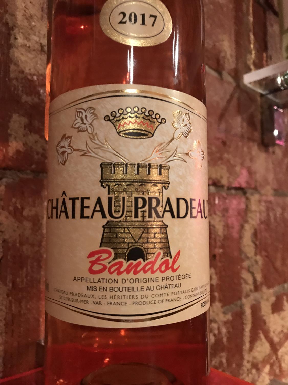 Chat Pradeaux Bandol Rose 2017