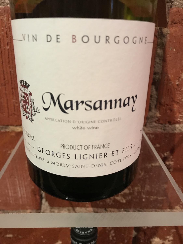 Georges Lignier Marsannay Blanc 2014
