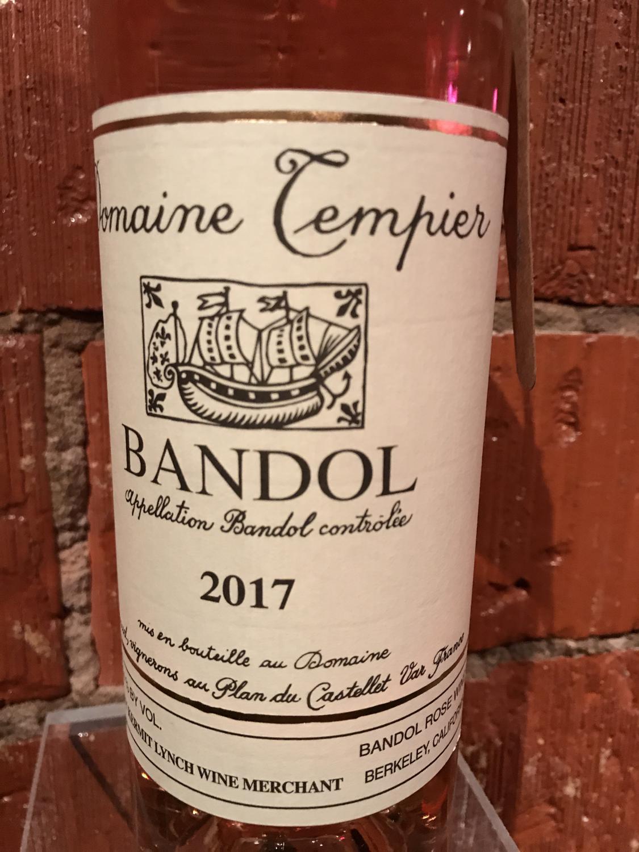 Dom Tempier Bandol Rose 2017