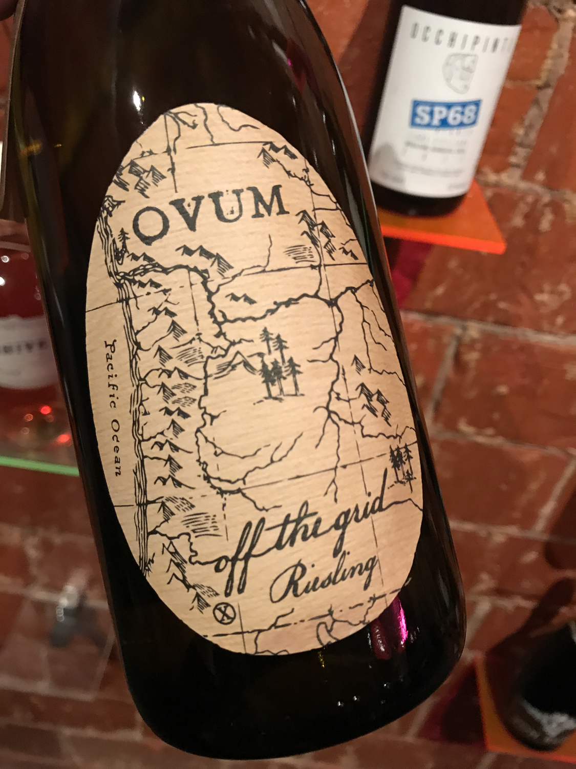 Ovum Off the Grid Riesling 2016