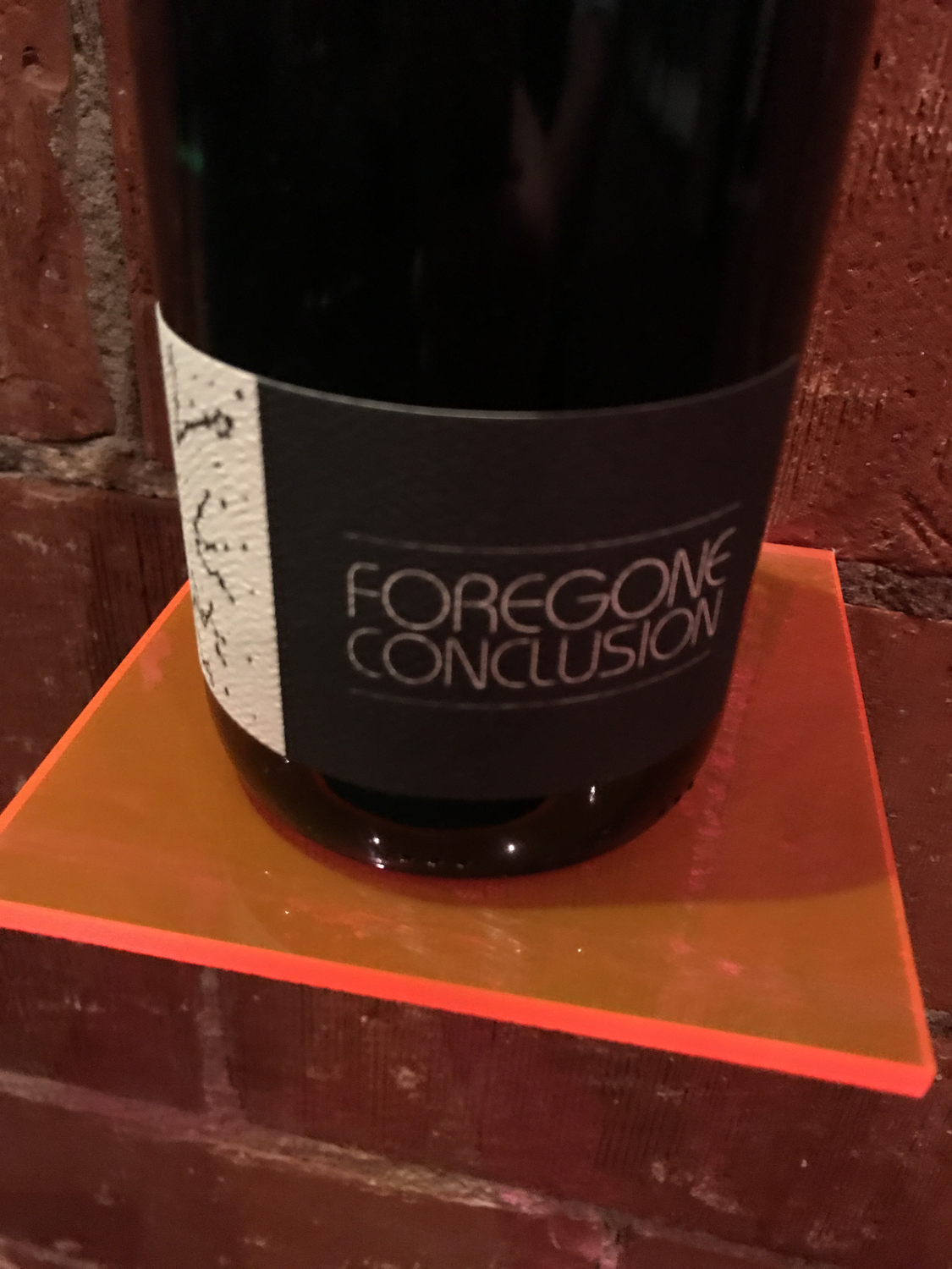Southold Farm + Cellar Foregone Conclusion 2017