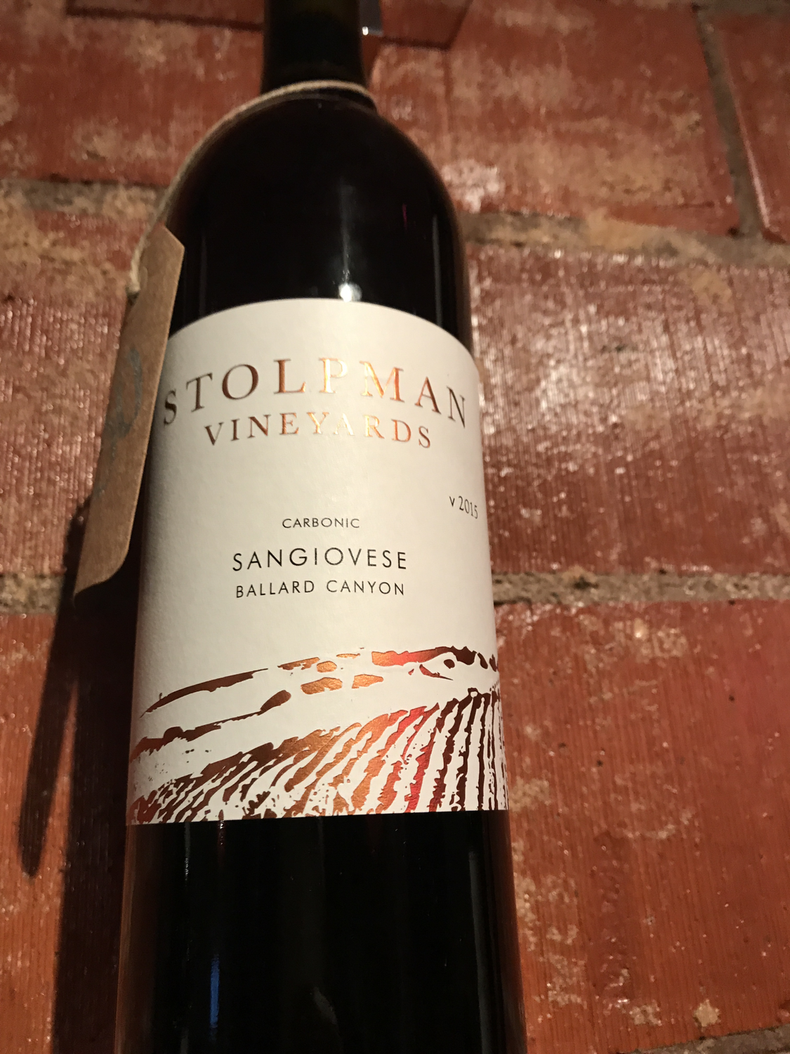 Stolpman Carbonic Sangiovese 2015