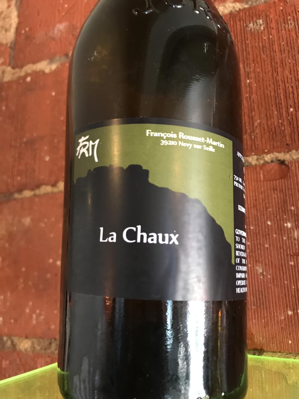 """Francois Rousset - Martin Cotes du Jura Chardonnay """"La Chaux"""" 2015"""