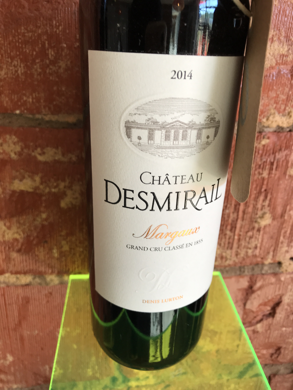 Chat Desmirail Margaux 3eme Grand Cru Classe 2014