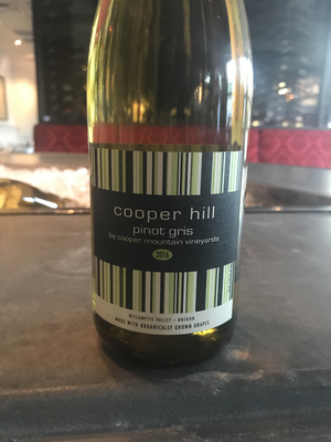 Cooper Hill Pinot Gris 2016