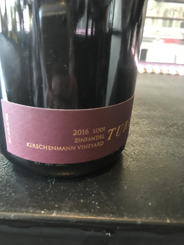 Turley Zinfandel Kirchenmann 2017