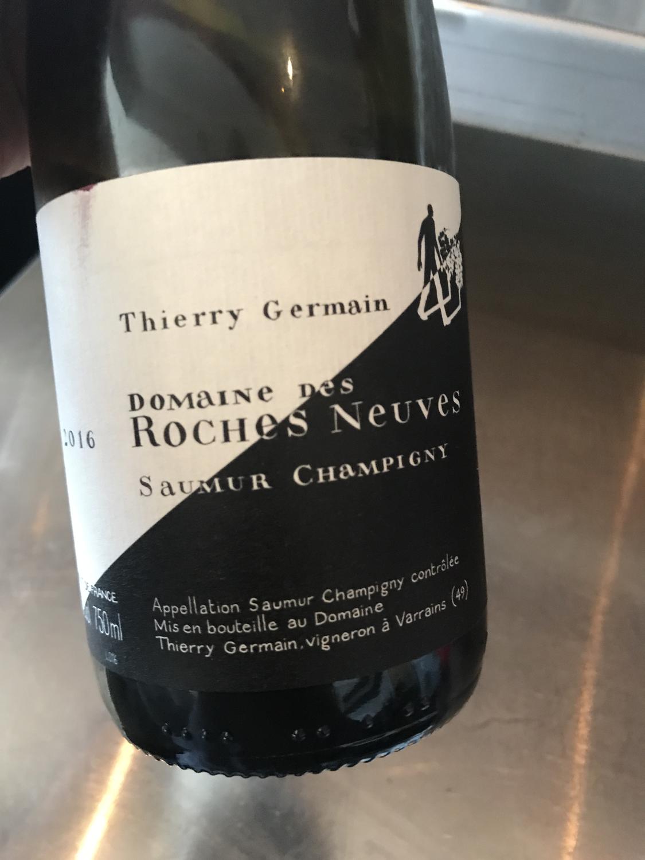 "Domaine Roches Neuves Saumur Champions ""Cuvee Domaine"" 2016"