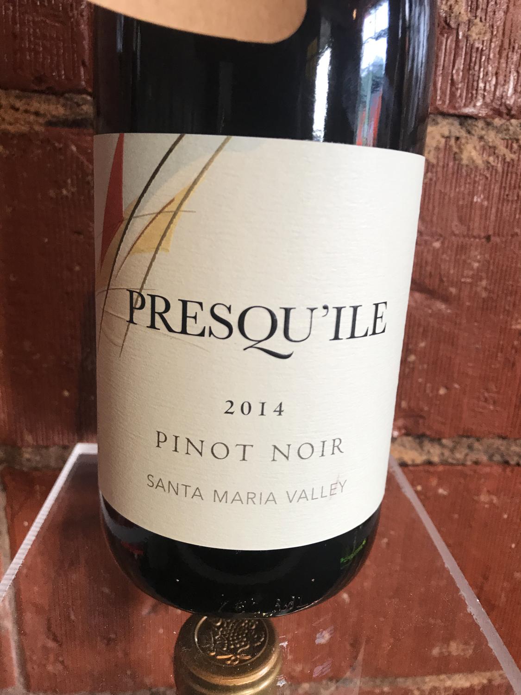 Presqu'ile Pinot Noir  Rose Santa Maria 2020