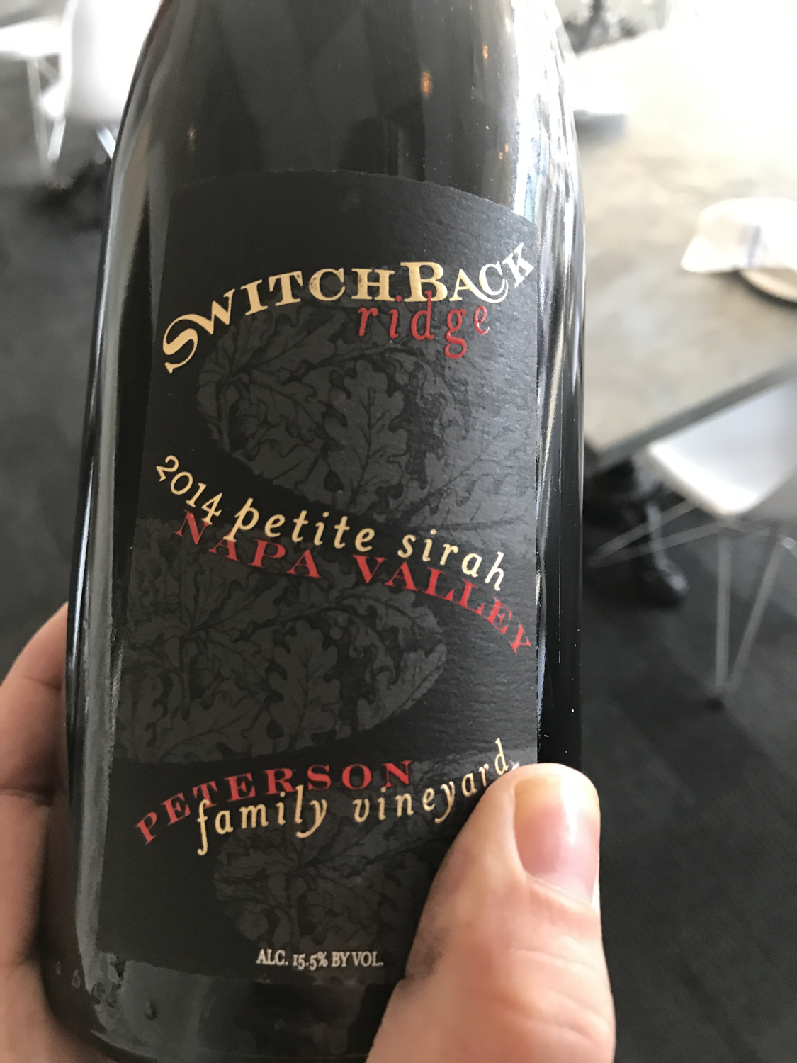 Switchback Ridge Petite Sirah 2014