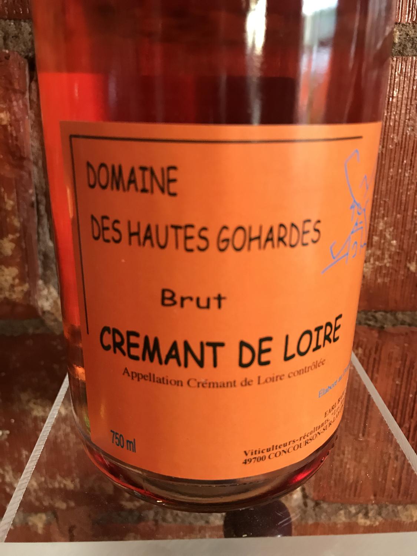 Les Haut Gohardes Cremant de Loire Rose NV