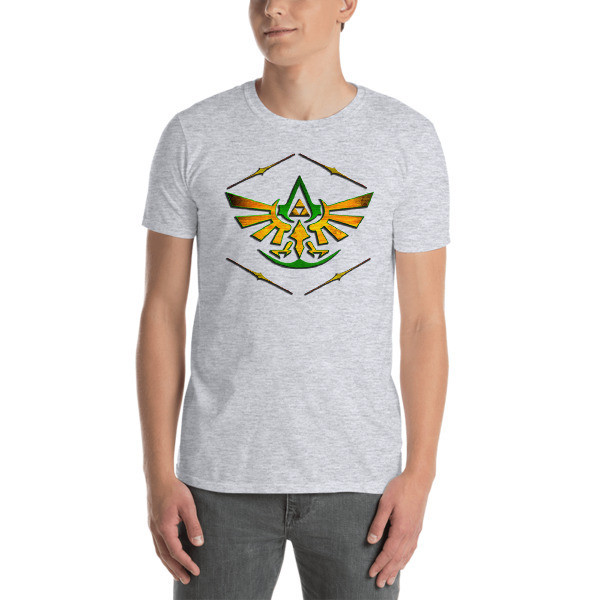 Assassin's TriForce - Hero Unisex Softstyle T-Shirt with Tear Away Label